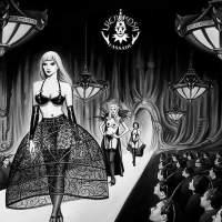 白黒ファッションショー